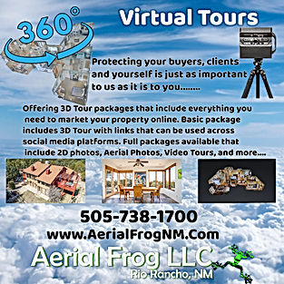 Aerial Frog 360 Virtual Tours instagram.