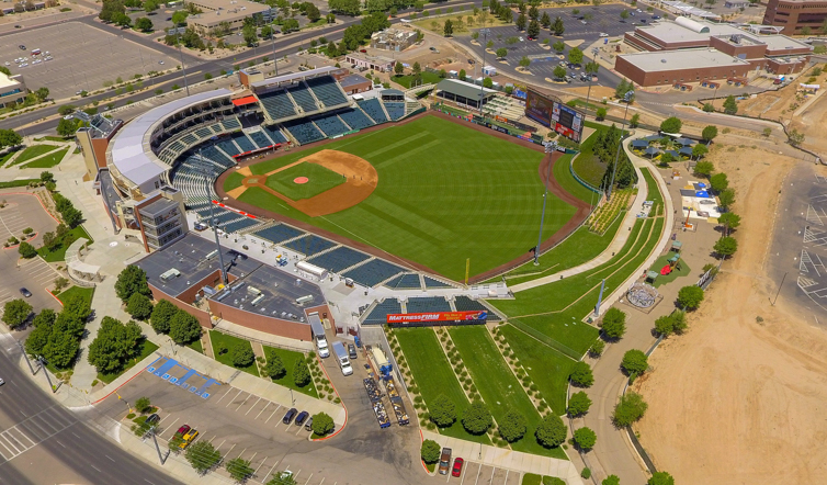 Isotopes Stadium - Albuquerque NM