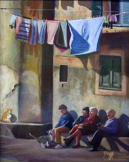 'Waiting'  pastel Susie Meech 2019 (002)