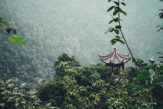 Jinggangshan mountain area China 2011
