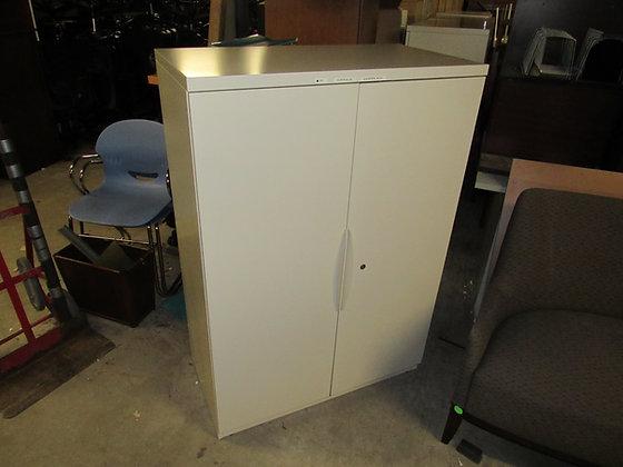 "#537, Pre-Owned Haworth 2-Door Storage Combination Cabinet   36""W"