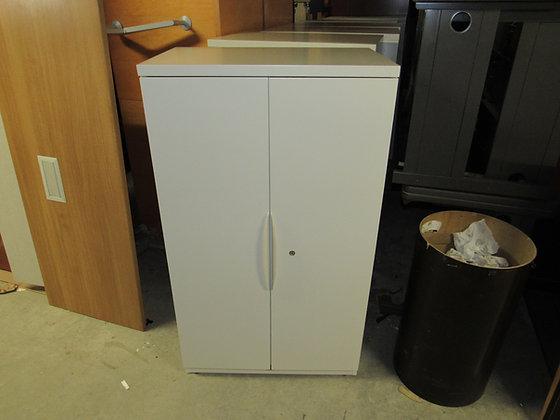 "#536, Pre-Owned Haworth 2-Door Storage Combination Cabinet   30""W"