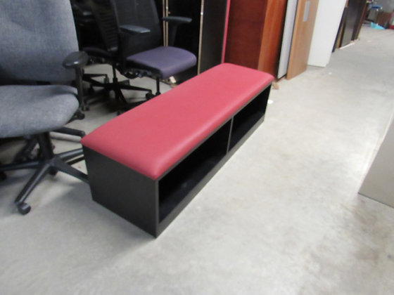 #529, Pre-Owned Cubby Storage Bench