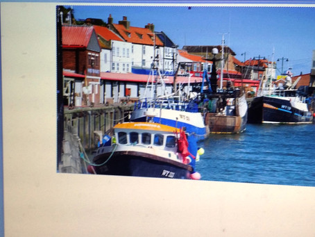 Fishing in Whitby