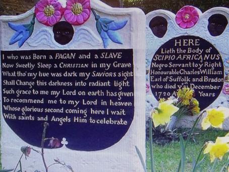 Memorial to a special slave