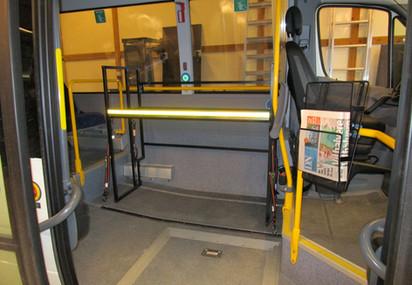 Innredning i minibuss