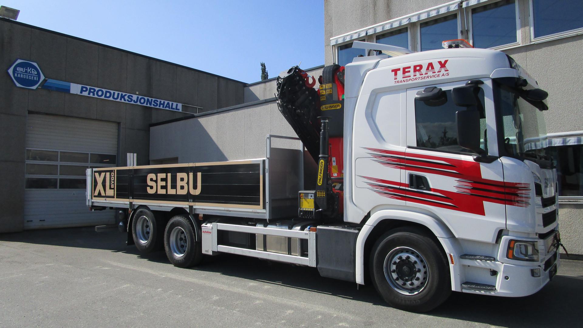 Scania Kran og Plan