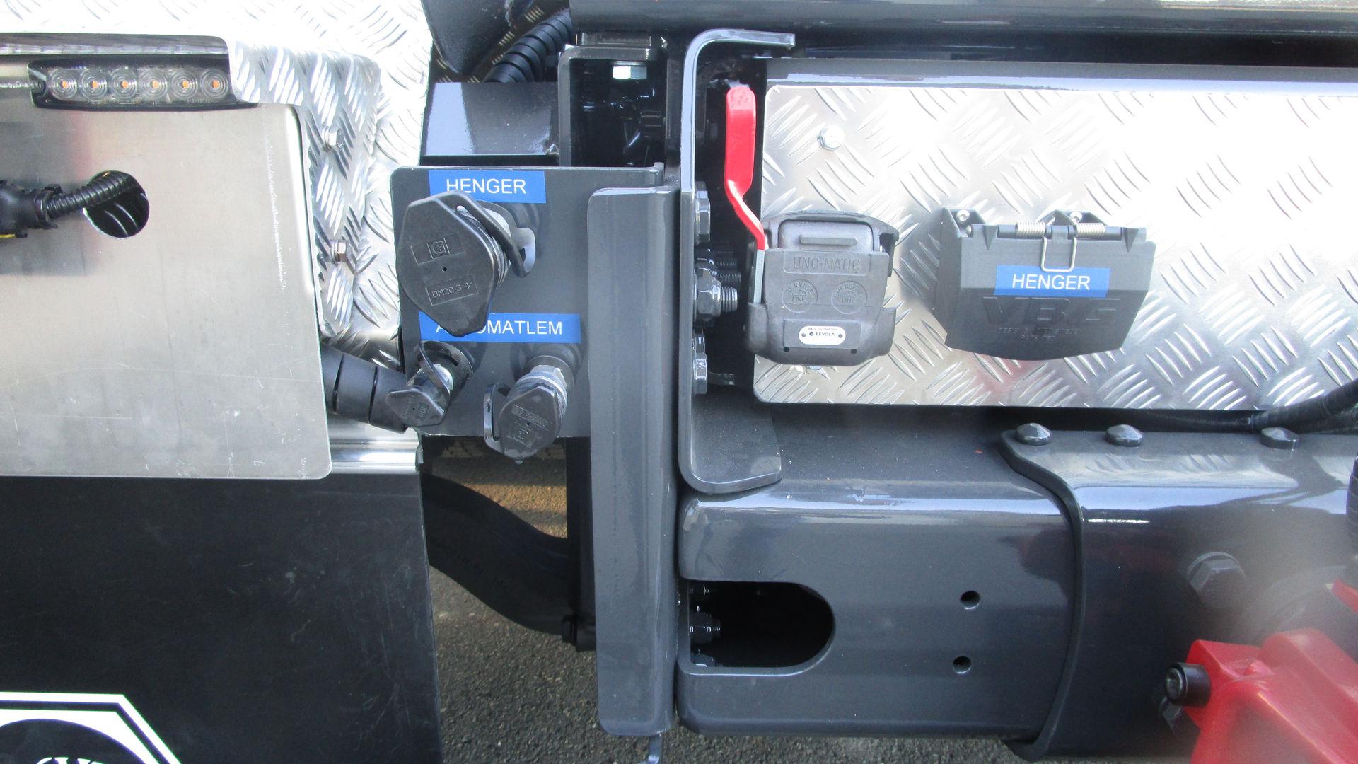 Hydraulikk for henger og automatlem