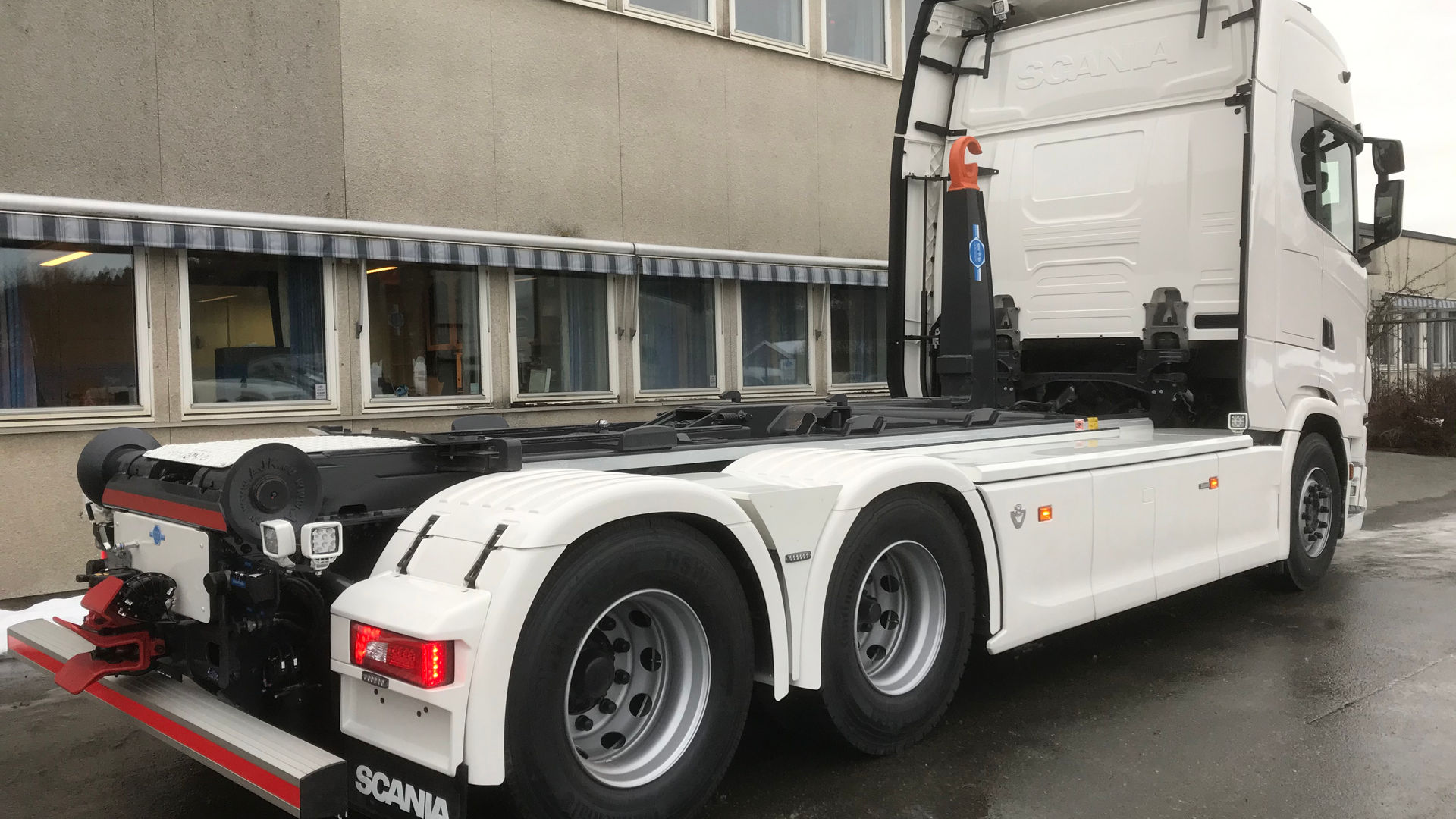 Scania krokløftbil