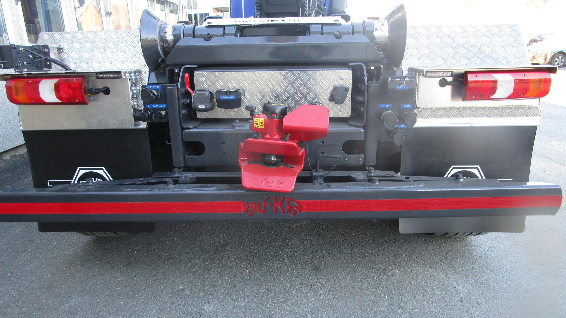 Uttrekkbart underkjøringshinder, hydraulisk/manuelt