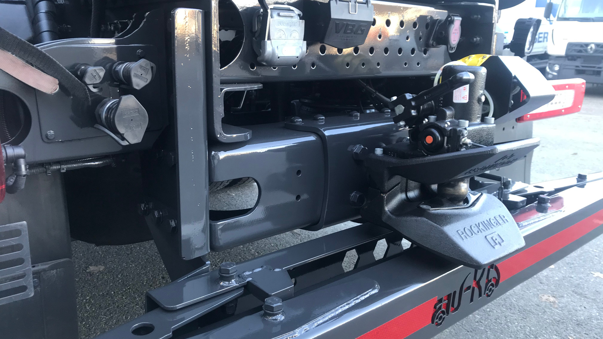 Hydraulikk henger/automatlem