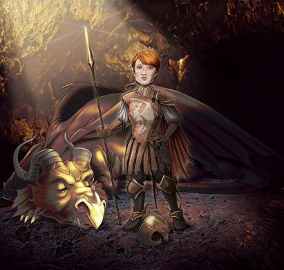 Halfling Dragon Paladin