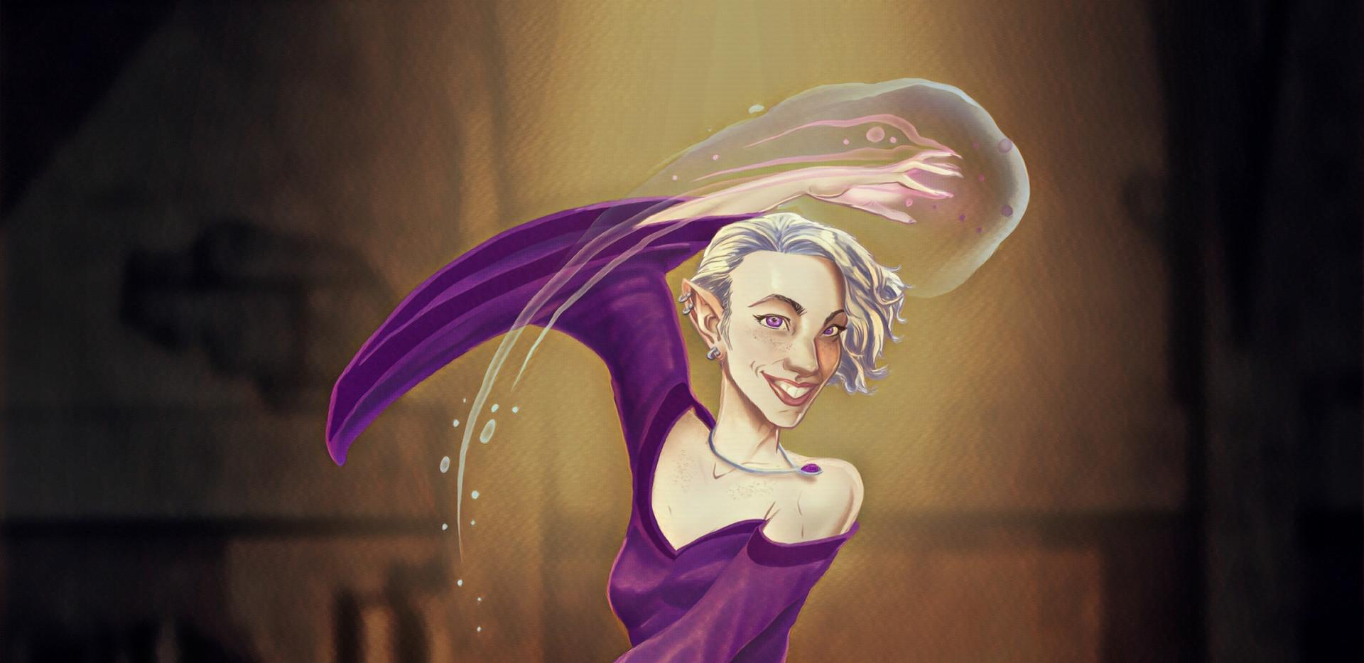 Half Elf Dance Mage