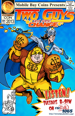 Two Guys Comic Cover