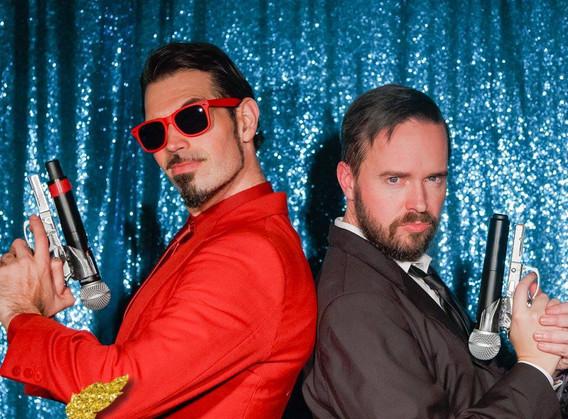 Inglorious Berlesque co-hosts