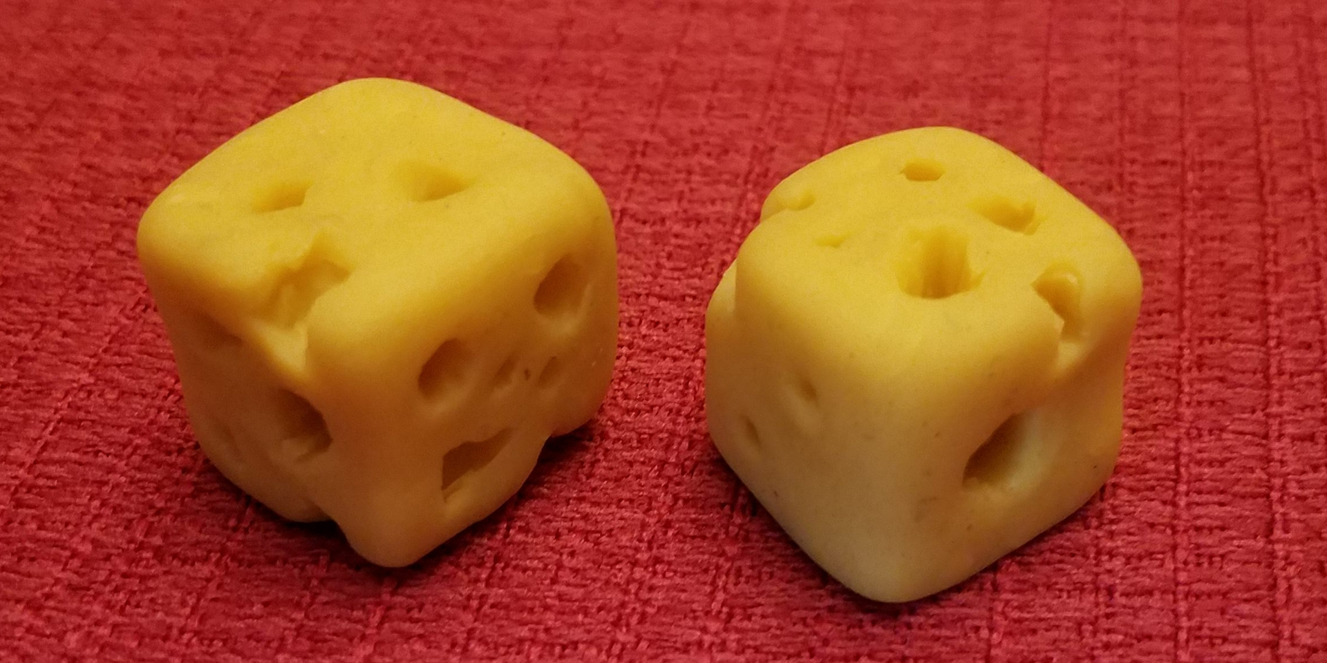 Cheese Cube Dice