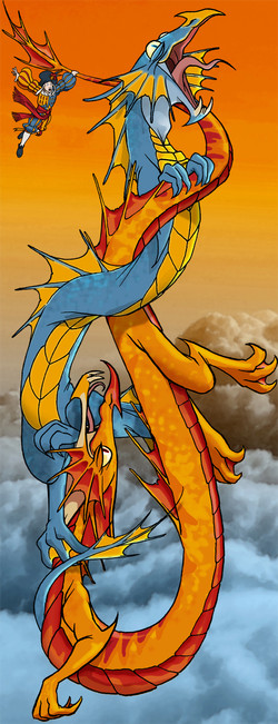Dragons Intertwined