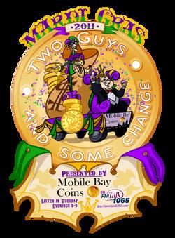 Two Guys Mardi Gras