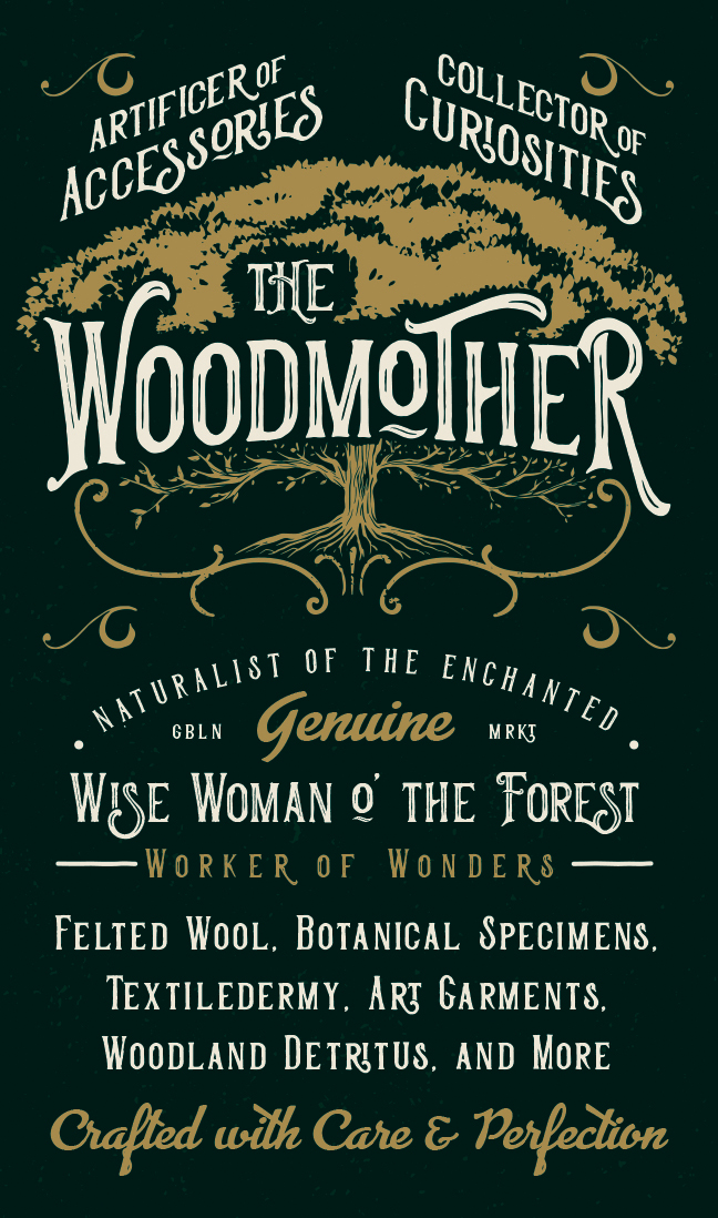 The Woodmother Business Card Front