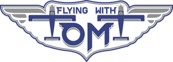 Flying With Tom T. Logo