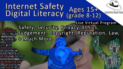 Internet Safety and Digital Literacy for Families with Kids Ages 9-11 (grade 4-5) image Pl