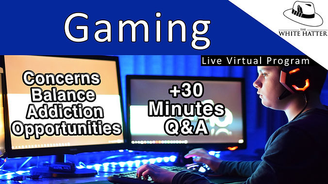 Gaming Concerns Balance Addiction and Opportunities