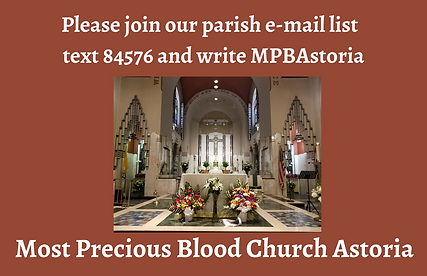 E-mail list info for Parishioners with c