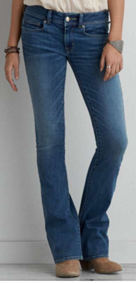AMERICAN EAGLE - OUTFITERS  DENIM X BOOT JEAN