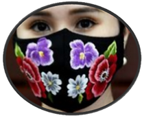 Designer Do Quyen Hoa's hand-embroidered