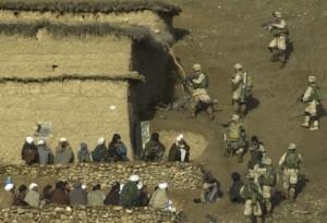 US soldiers in Afghanistan, 2003. Credit: US Army