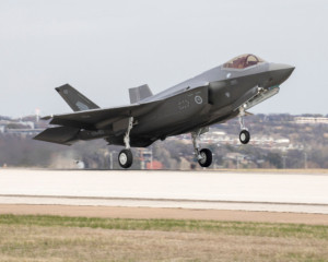 A Royal Australian Air Force F-35 (Source: Australian Department of Defence)