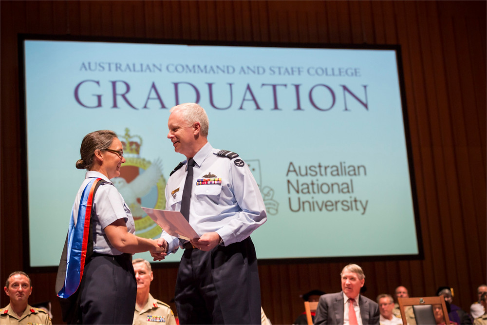 Australian Command and Staff Course - Joint aims to educate O4 and O5 level officers to prepare them to be Commanding Officers or key staff to senior leaders. [Image Credit: Department of Defence]