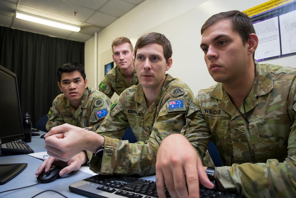 Australian Army innovation – Cyber security training
