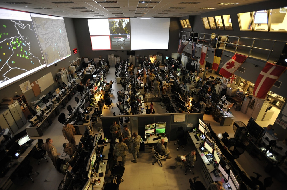 Combined Air Operations Center [Image credit: United States Air Force]