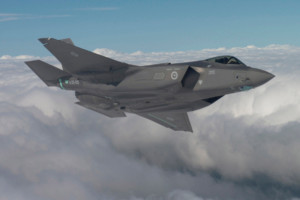 Australia's first Lockheed Martin, F-35A Lightning II Joint Strike Fighter on its inaugural flight on 29 September 2014. [Image Credit: Lockheed Martin]