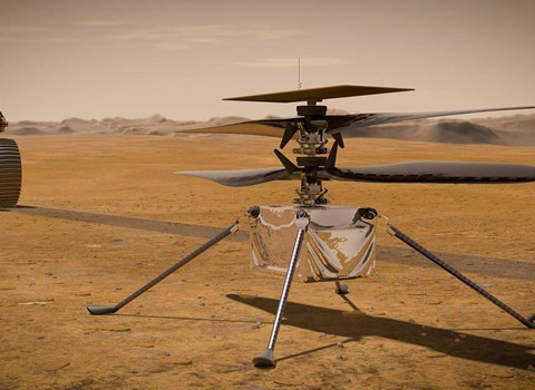 NASA Remote Piloted Aircraft Displaced in Time and Space is Ingenuity - Part 1