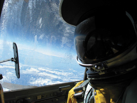 What does Time and Space mean for the Airman? – <em>Ian Shields</em>