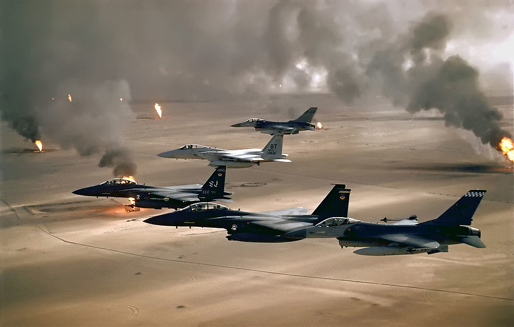 It's successful use in ensuring the effective coordination of the air campaign in Operation Desert Storm cemented the Air Tasking Order as the cornerstone of air power command and control. [Image Credit: US Air Force]