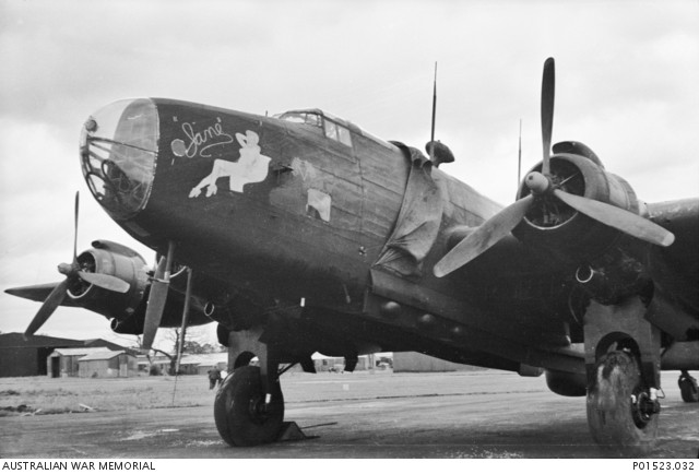 A No. 462 Squadron Halifax B. Mk. III Airborne Cigar Aircraft [Image Credit: Australian War Memorial]