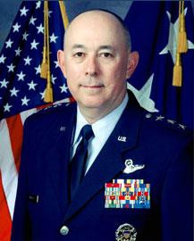 Then Lieutenant General Michael Moseley, Commander United States Central Command Air Forces [Image credit: United States Air Force]