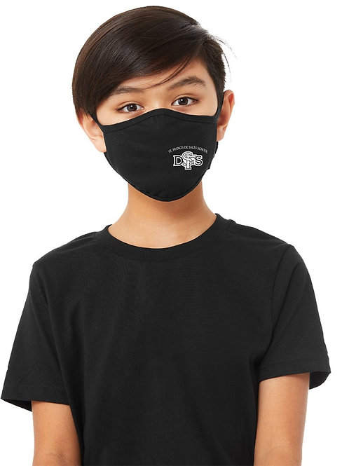 Youth Mask - Heather Navy