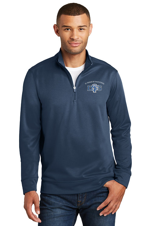 Adult 1/4 Zip Pullover, Embroidered Front