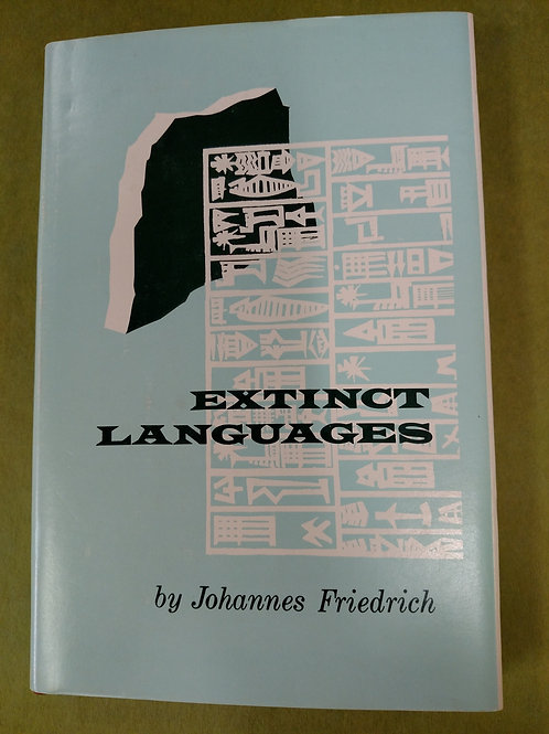 Extinct Languages