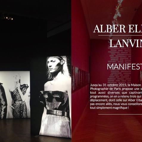 ALBER ELBAZ / LANVIN, MANIFESTE