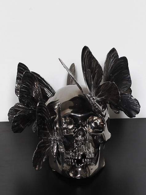 Philippe_Pasqua_vanité_bronze_canon_de_f