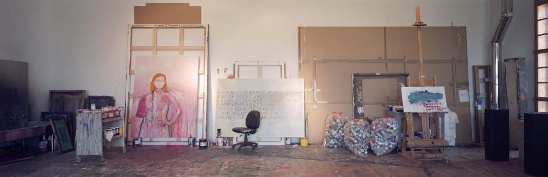 Gautier DEBLONDE Atelier de Richard PRINCE 2005