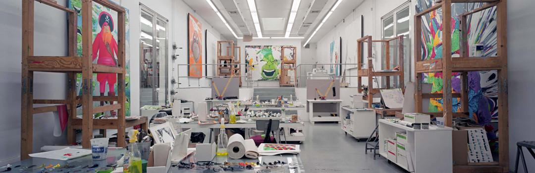 Gautier DEBLONDE Atelier de Jeff KOONS 2005