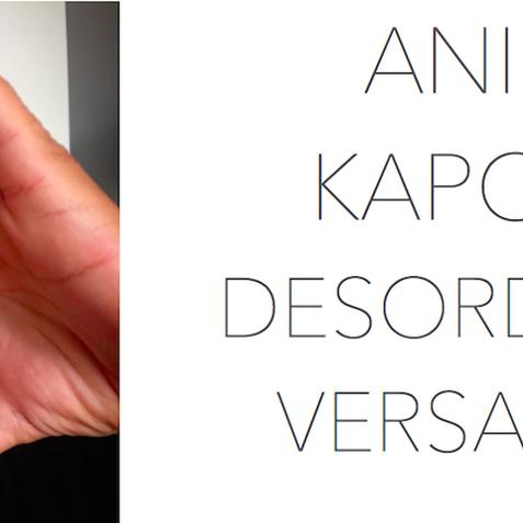 ANISH KAPOOR – DESORDRES A VERSAILLES