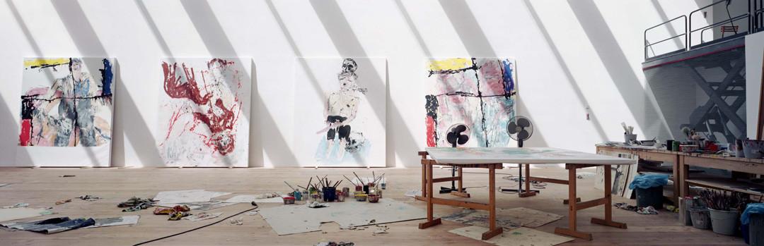 Gautier DEBLONDE Atelier de Georg BASELITZ 2008