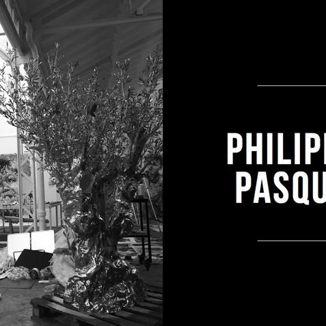 DANS L'ATELIER DE PHILIPPE PASQUA